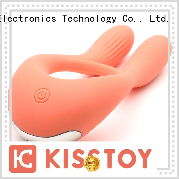 KISSTOY cock ring vibrator adult toy factory for men